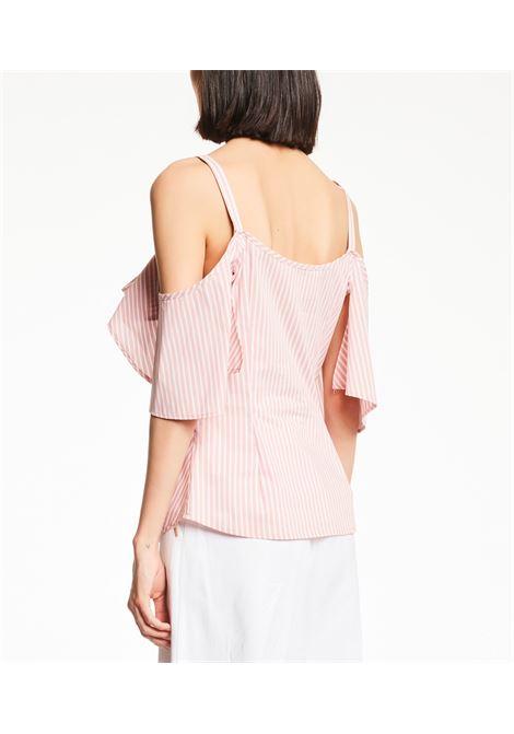 Camicia effetto top con balze e spalline GAUDI FASHION | Camicie | FD45032111040-01