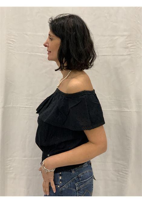 Camicia con spalle da fuori, GAUDI | Camicia | BD450232001
