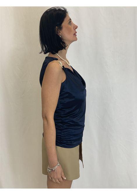 Canotta con applicazioni gioiello GAUDI | Maglia | FD440012817
