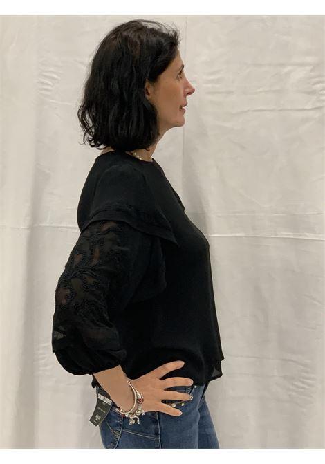 Camicia girocollo con maniche lunghe GAUDI | Camicie | FD450152001
