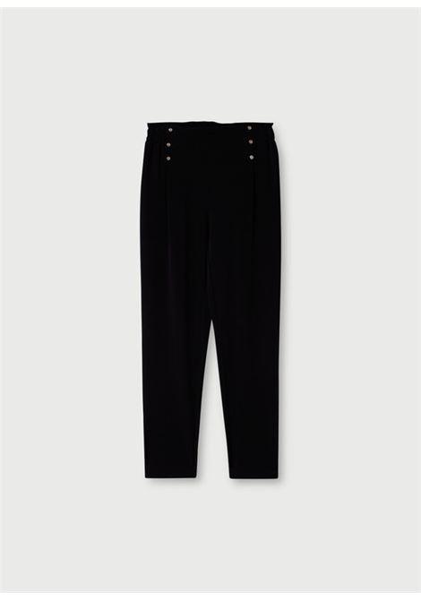 Pantalone con tasche e bottoni LIUJO   Pantaloni   TA1001T842322222