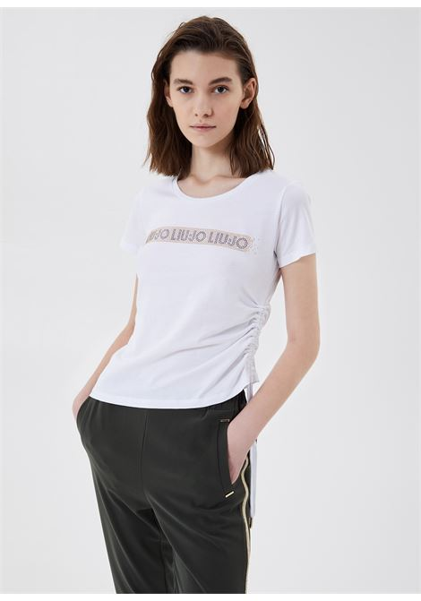 Tshirt ecosostenibile mezze maniche LIUJO | Maglia | TA1193J592311110