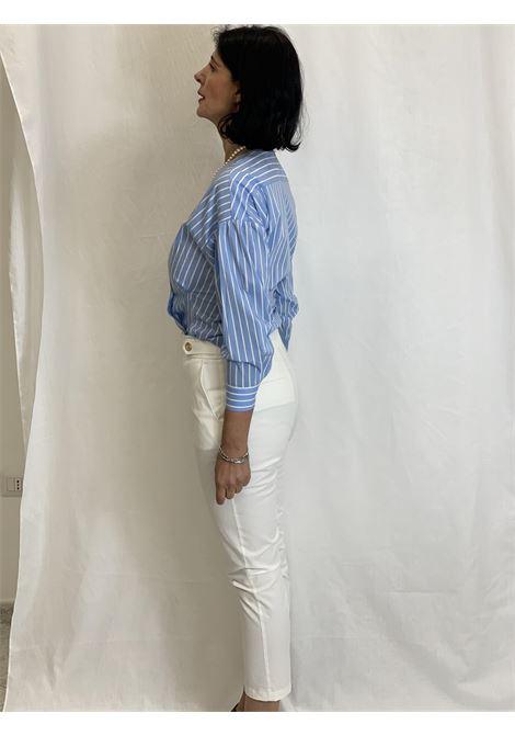 Pantaloni vita alta LIUJO | Pantaloni | CA1005T2398X0256