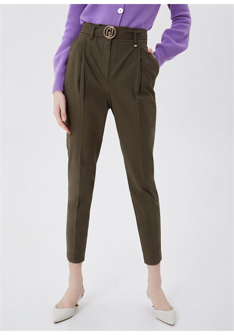 Trouser in stretch cotton gabardine  LIUJO |  | CA1006T2398X0344