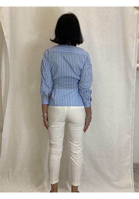 Camicia in cotone stretch LIUJO | Camicia | CA1010T237603086