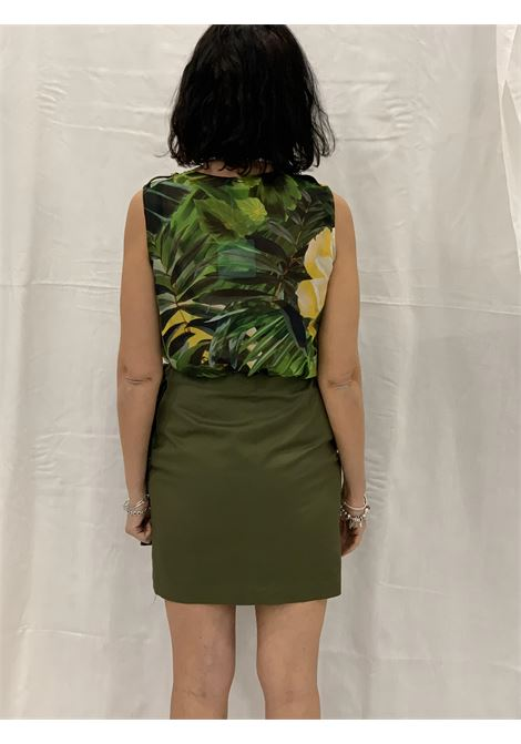 Dress with tropical  LIUJO |  | CA1154T2938T9554