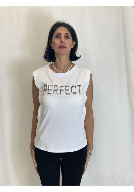 T-shirt con stampa LIUJO | Maglia | TA1110J500311110