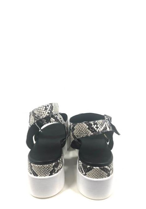 Sandali pitonati e intrecciati MELANY BOUTIQUE | Sandali | 1721SENI0011