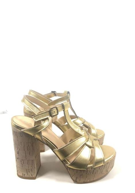 Wedge sandal and cork heel  MELANY BOUTIQUE |  | 758UNAM010