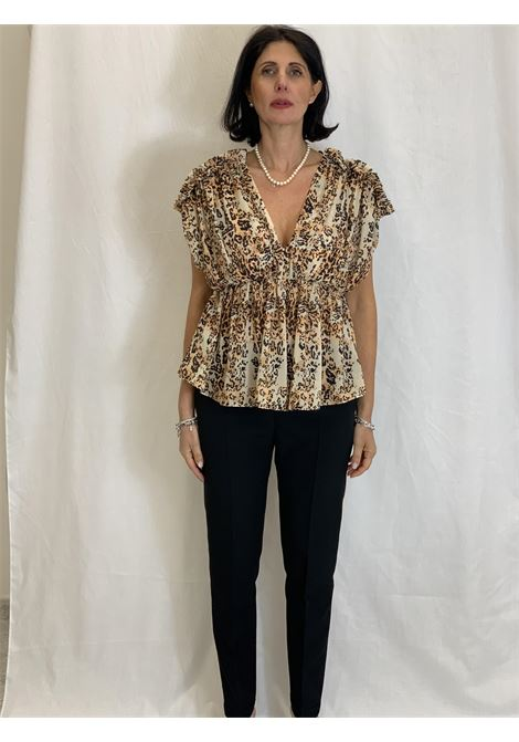 Animal print blouse  RELISH |  | GUARDIANIM1101