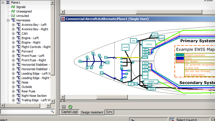 ewhd home rotate 4 electrical & wire harness design mentor graphics aircraft wire harness manufacturers at soozxer.org