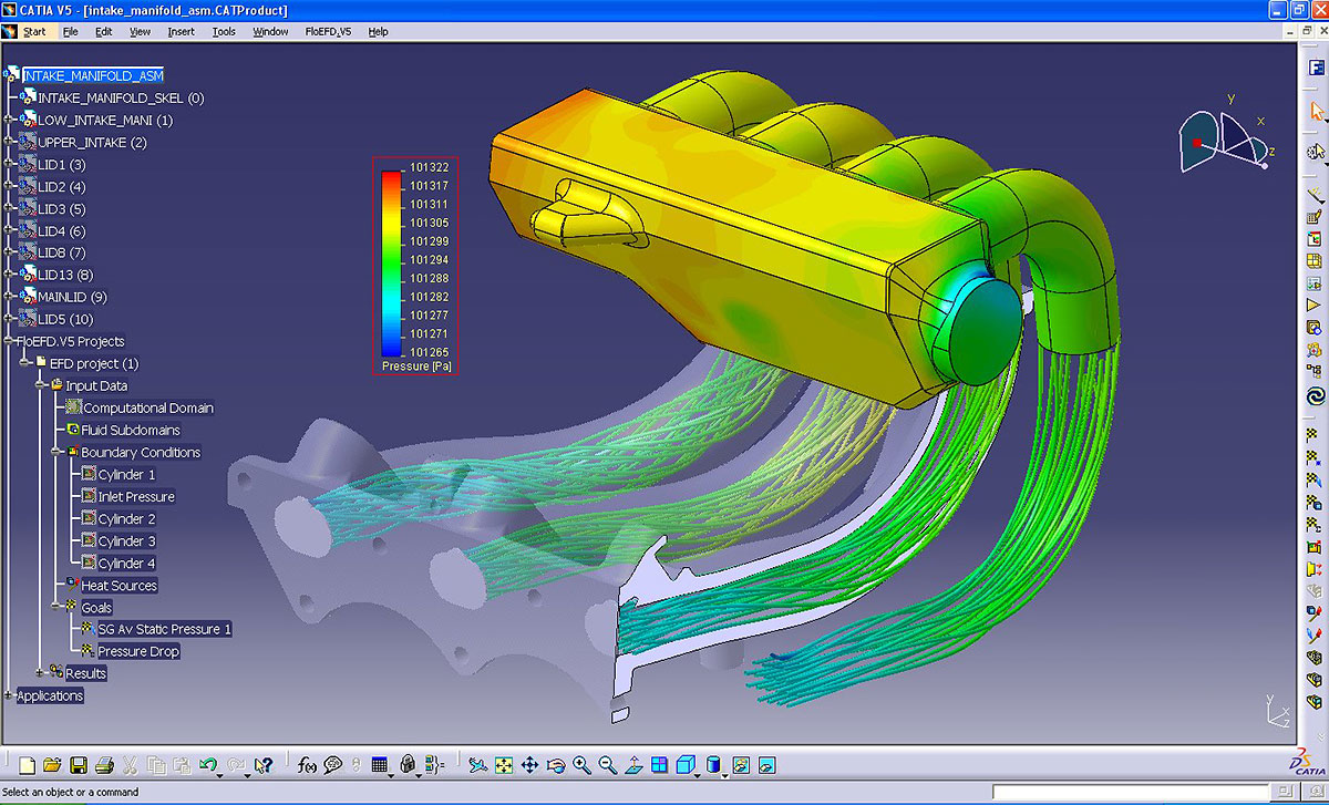 Floefd catia v5 cfd fully embedded in catia v5 mentor Home modeling software
