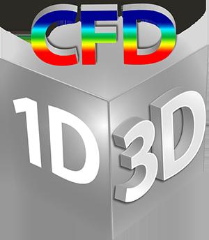 1D三维CFD