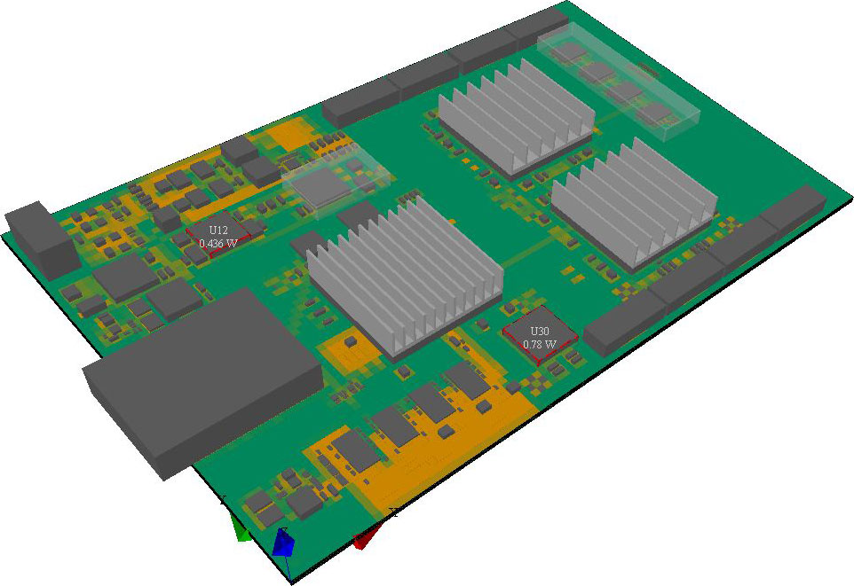 Pcb Caulking In Buildings : Flotherm pcb technical specifications mentor graphics