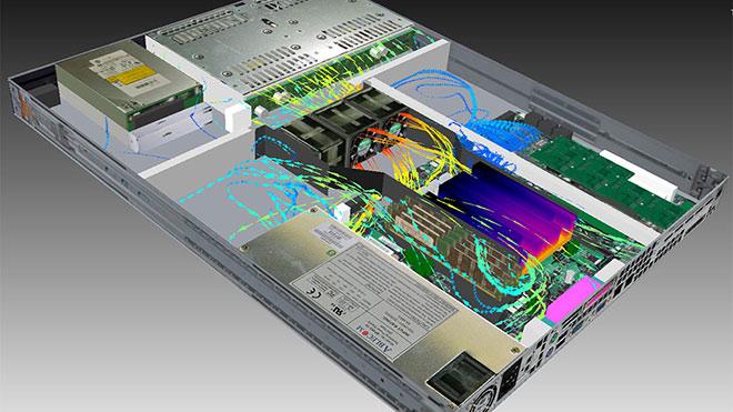 1U服务器热分析