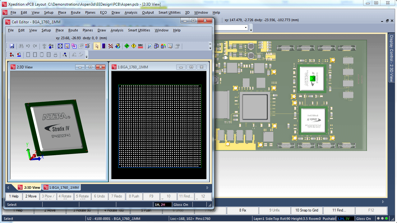 3D Layout PCB Design solution - Mentor Graphics