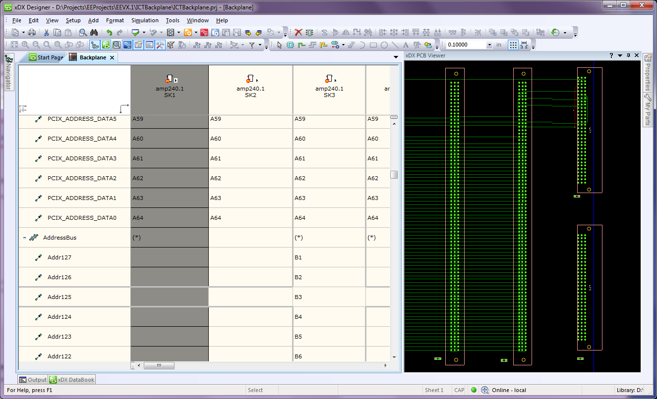 Xpedition Xdx Designer Mentor Graphics Help Designing A Circuit Page 1 Interconnect Editor For Table Based Design Of High Pin Out Components Such As Fpgas Connectors And Backplanes