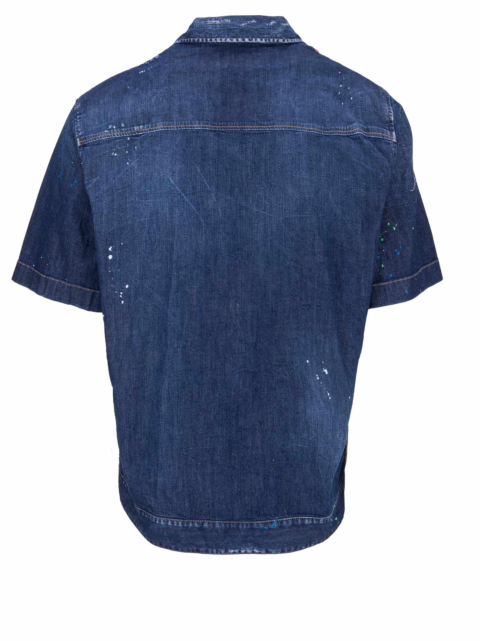 dfec377b Dsquared2 Shirt - Dsquared2 - Michele Franzese Moda