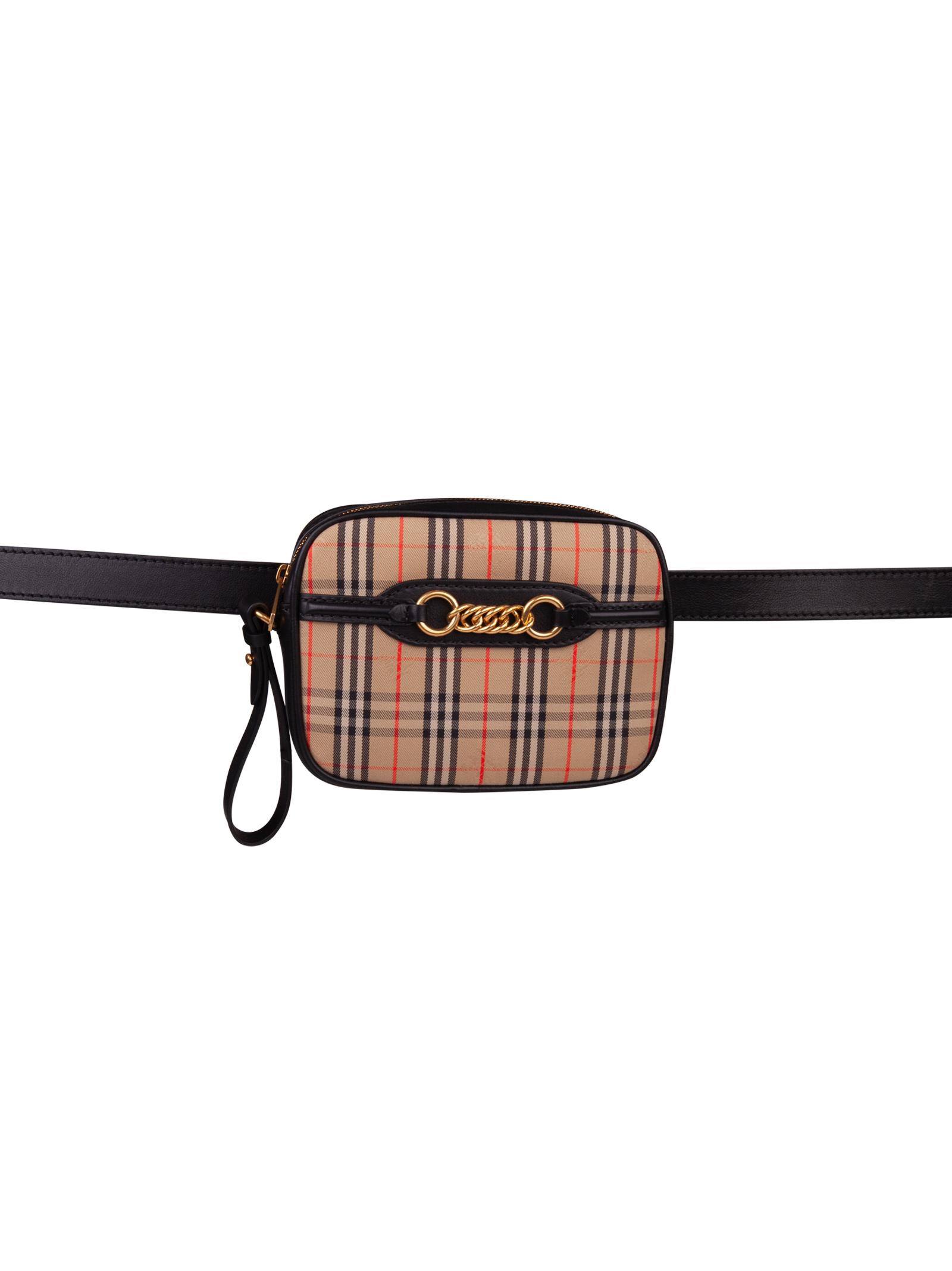 687d35d09853 Michele Franzese Moda. 0. Burberry belt bag BURBERRY