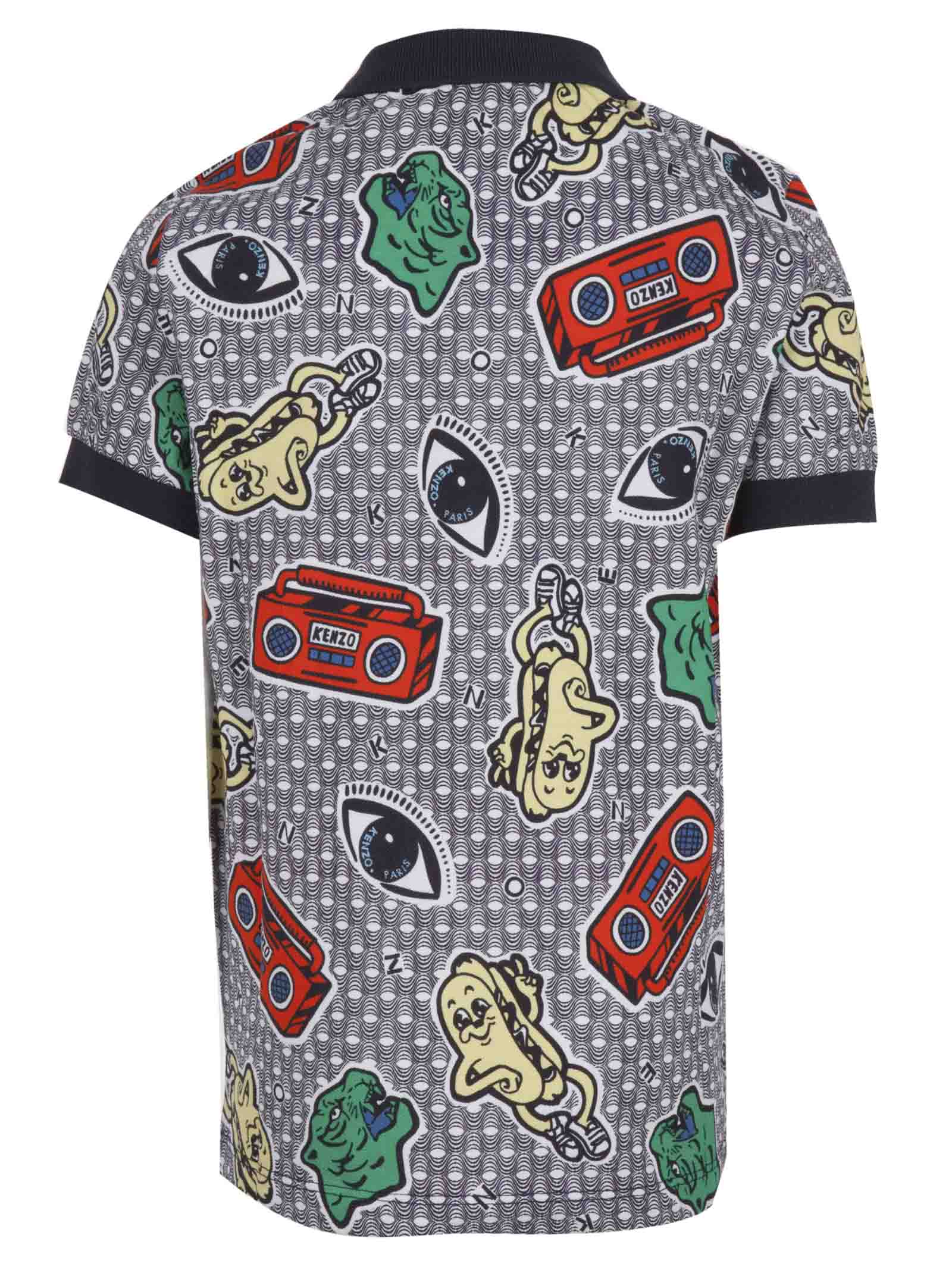 d0556611 Kenzo Polo Shirt - Kenzo Junior - Michele Franzese Moda