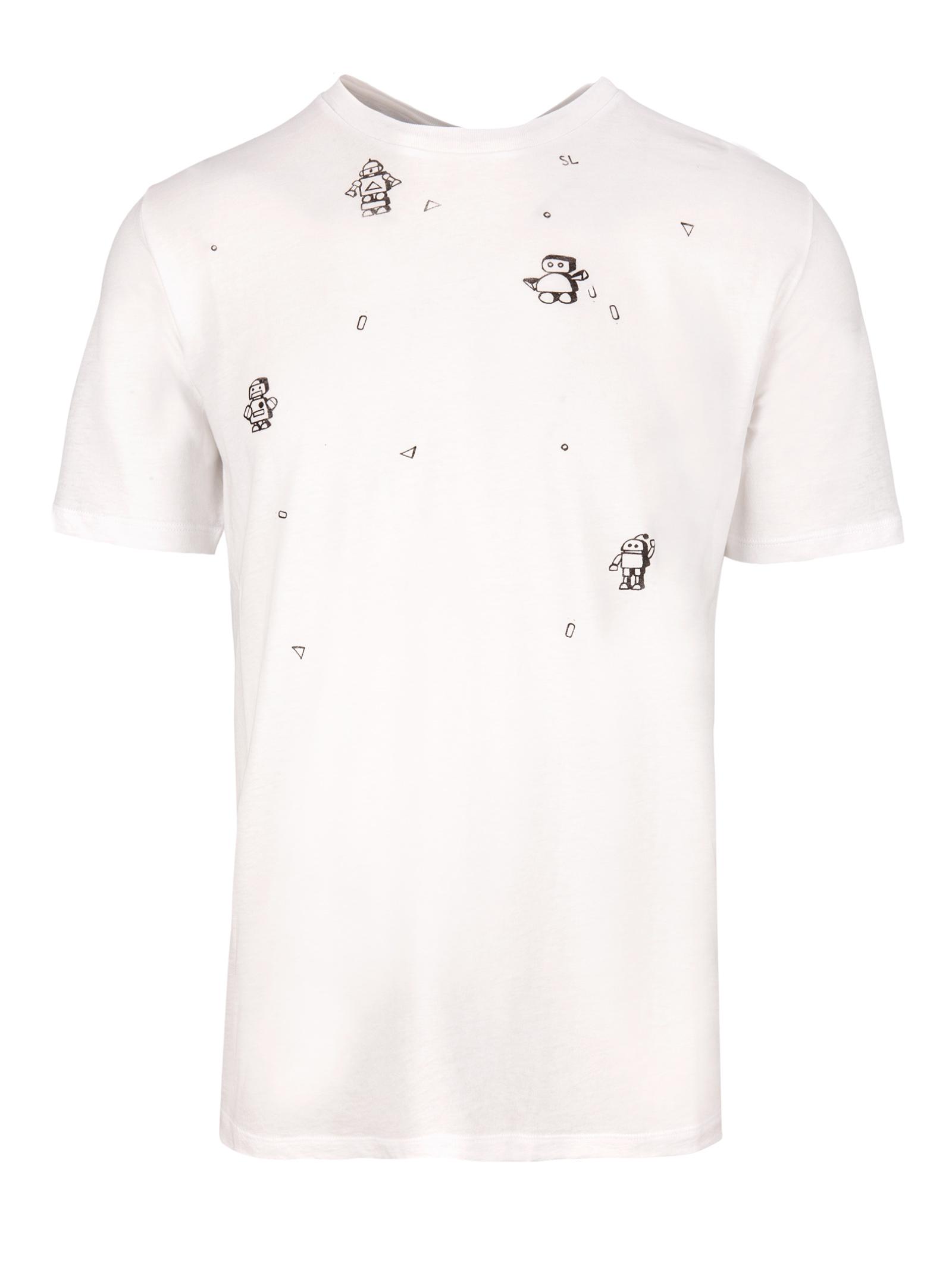 T-Shirt Saint Laurent - Saint Laurent - Michele Franzese Moda 3dd13b7c06c