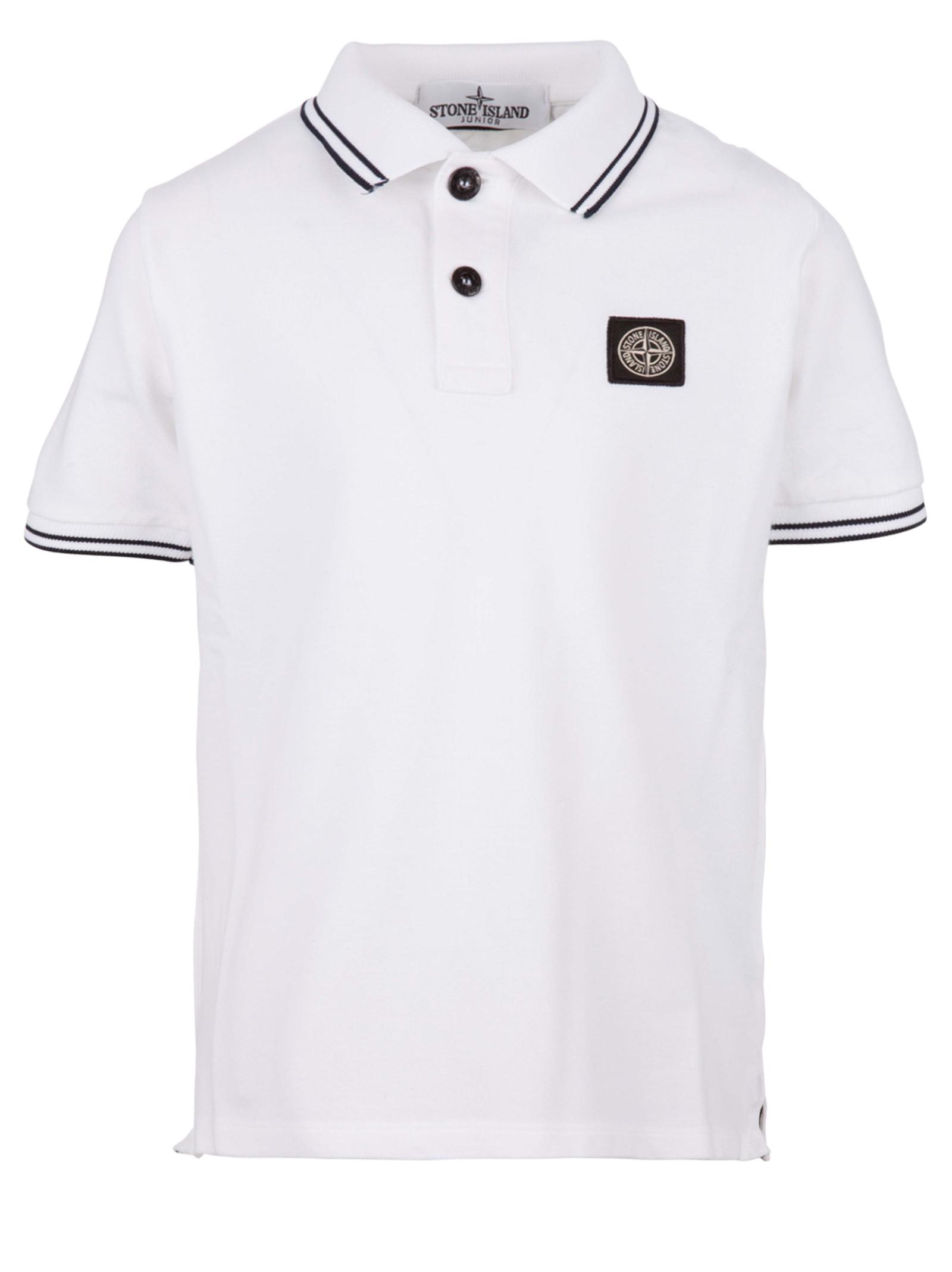c756174713d Stone Island Kids polo shirt - Stone Island Junior - Michele Franzese Moda