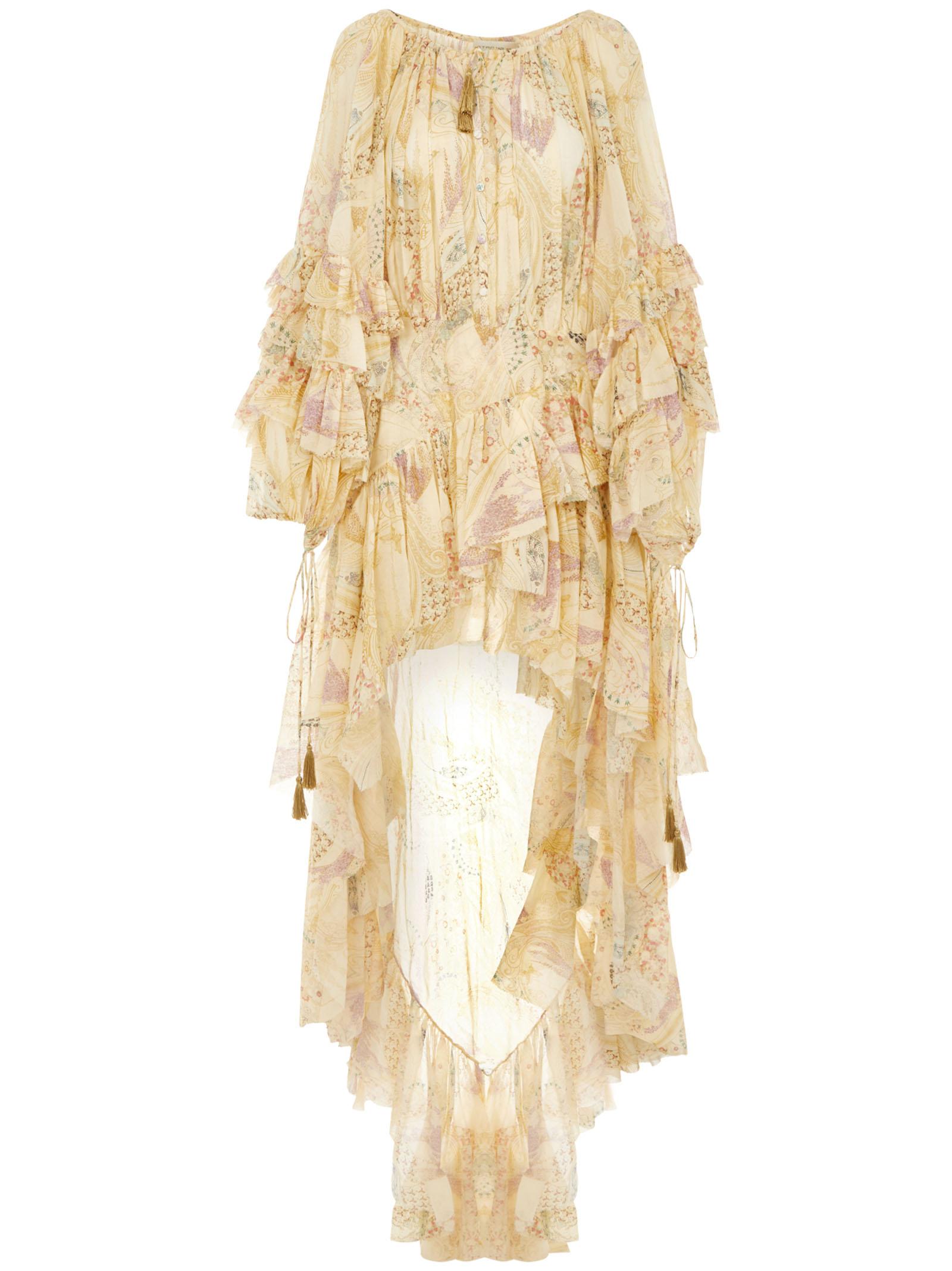 Paisley Vestaglia Leggera in Cotone Uomo
