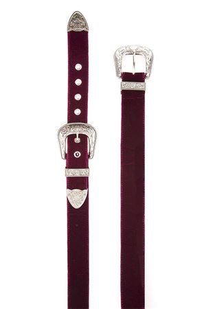 Cintura B-Low the belt B-low the belt | 1218053011 | BT7786BURGUNDY SILVER
