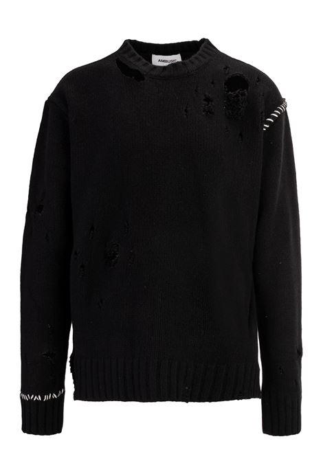 Ambush sweater Ambush | 7 | AMBKN116BLAK