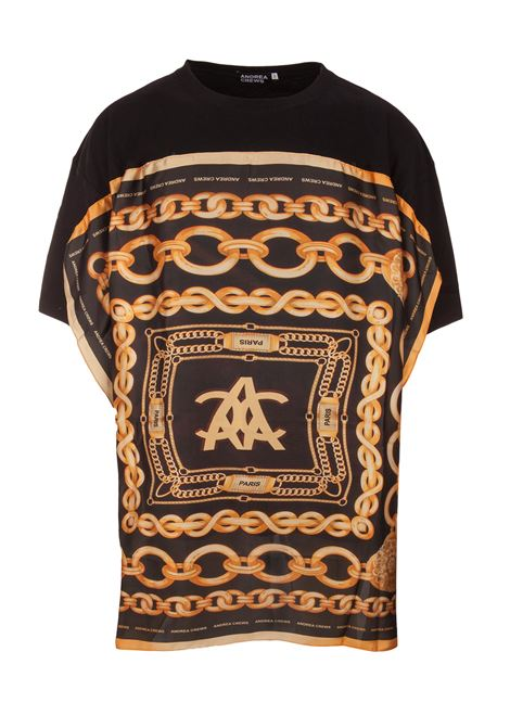 T-shirt Andrea Crews Andrea Crews | 8 | HERITAGEBLACK