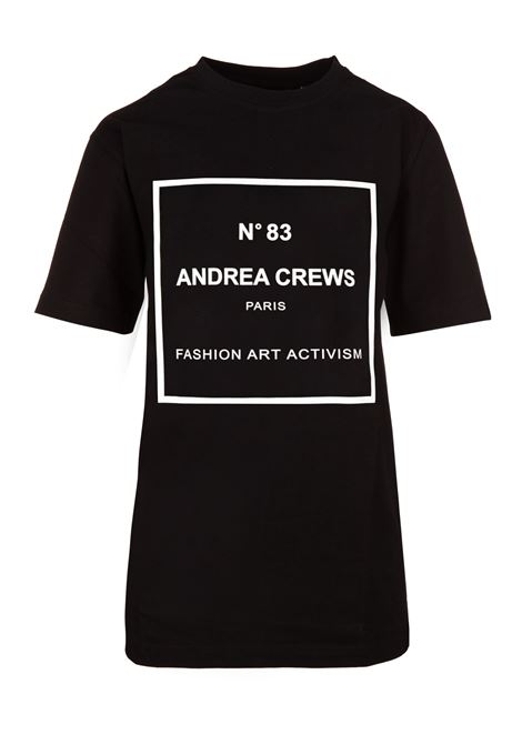Andrea Crews t-shirt Andrea Crews | 8 | PERFBLACK