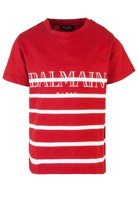 BALMAIN PARIS KIDS T-shirt BALMAIN PARIS KIDS | 8 | W8E8008I158132
