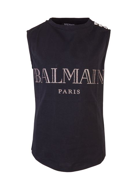 BALMAIN PARIS KIDS Tanktop BALMAIN PARIS KIDS | -1740351587 | W8E8011I288176