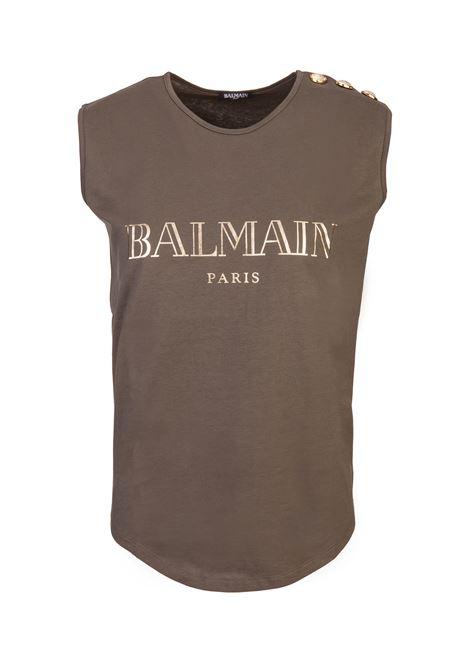 Balmain paris tanktop BALMAIN PARIS | -1740351587 | 158010326IC3690