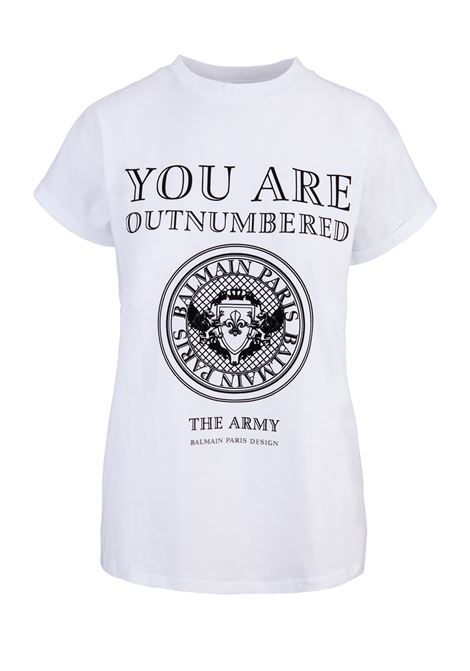 Balmain Paris t-shirt BALMAIN PARIS | 8 | PF01002I020C0001