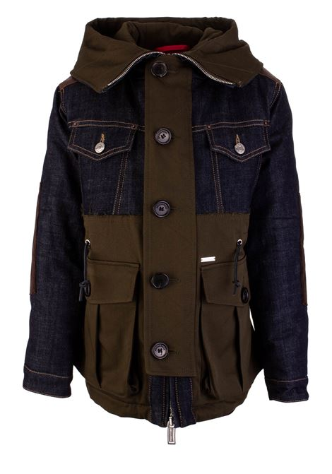 Giubbino Dsquared2 Junior Dsquared2 Junior | 13 | DQ02W8D00QWDQ558