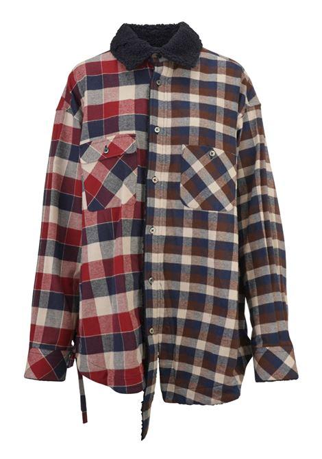 Facetasm shirt Facetasm | -1043906350 | 18FWMRCM35NAVY
