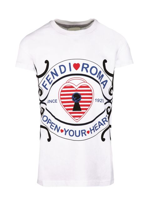Fendi Kids t-shirt Fendi Kids | 8 | JFI1357AJF0QA0
