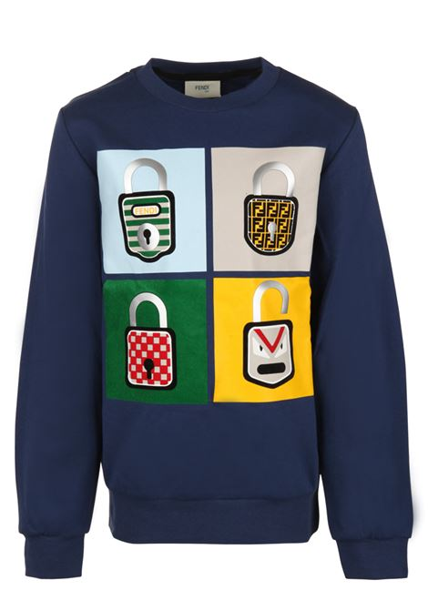 Fendi Kids sweatshirt Fendi Kids | -108764232 | JMH080A4RAF0QA2