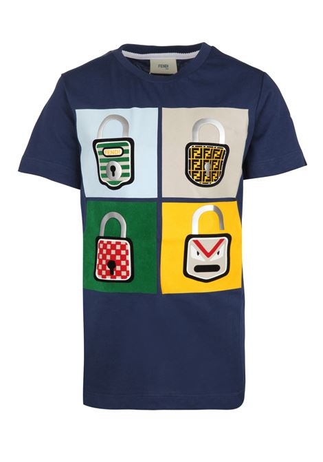 Fendi Kids t-shirt Fendi Kids | 8 | JMI2197AJF0QA2