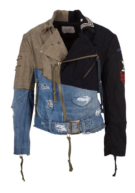 Greg Lauren jacket Greg Lauren | 13 | GLFW18M041ARMYNAVY