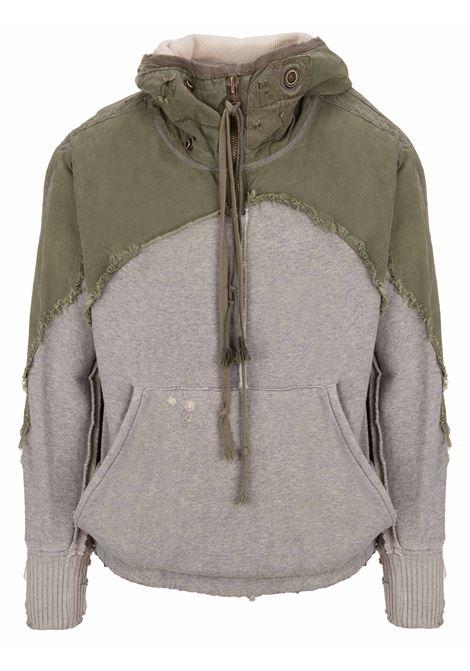 Greg Lauren sweatshirt Greg Lauren | -108764232 | GLFW18M065GREY