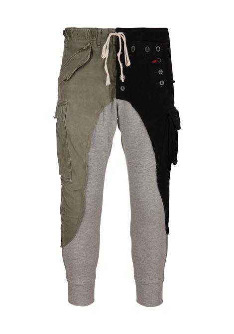 Pantaloni Greg Lauren Greg Lauren | 1672492985 | GLFW18M206ARMYNAVY