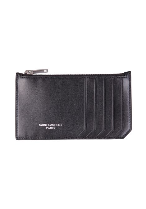 Portacarte Saint Laurent Saint Laurent | 633217857 | 4585890VG5E1014