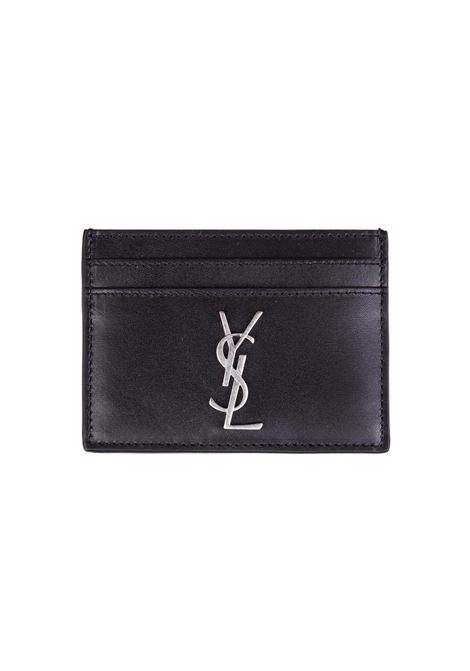 Porta carte Saint Laurent Saint Laurent | 633217857 | 4856310SX0E1000