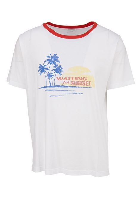 T-shirt Saint Laurent Saint Laurent | 8 | 500640YB2MY8486