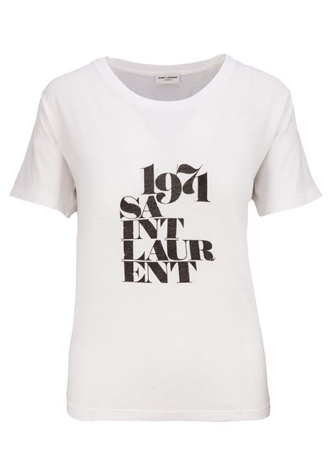 T-shirt Saint Laurent Saint Laurent | 8 | 529600YB2VM9744