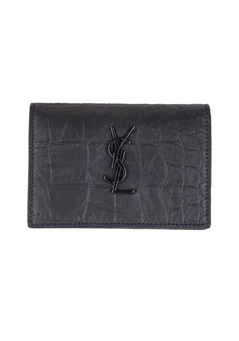 Porta carte Saint Laurent Saint Laurent | 633217857 | 529887C9H0U1000