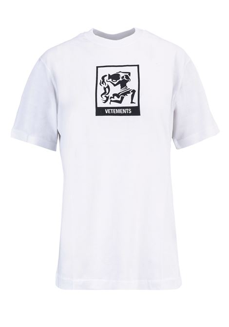 T-shirt Vetements Vetements | 8 | UAH19TR303WHITEAQU