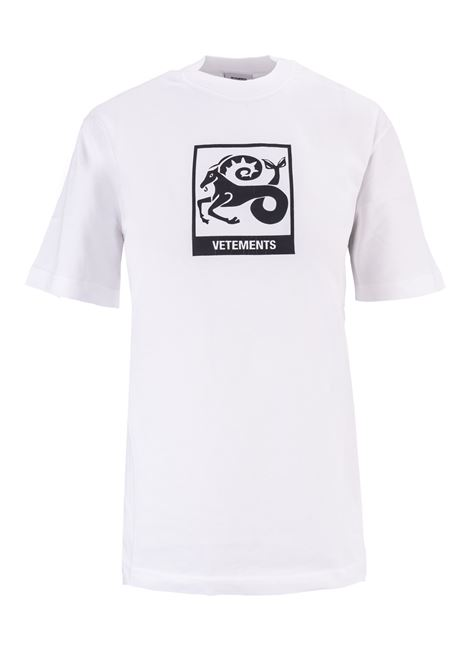 T-shirt Vetements Vetements | 8 | UAH19TR303WHITECAP